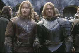 David Wenham (at left), Sean Bean (at right)