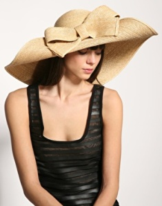 Helene Berman straw hat
