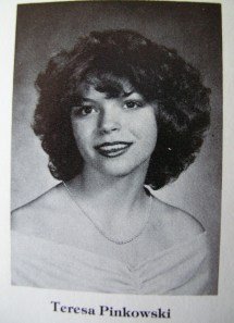 Me, age 17, September 1978, senior year picture