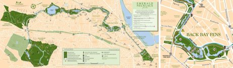 Map copyright and more info at: www.emeraldnecklace.org