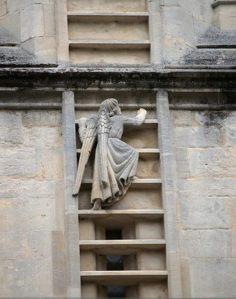 angel bath england abbey