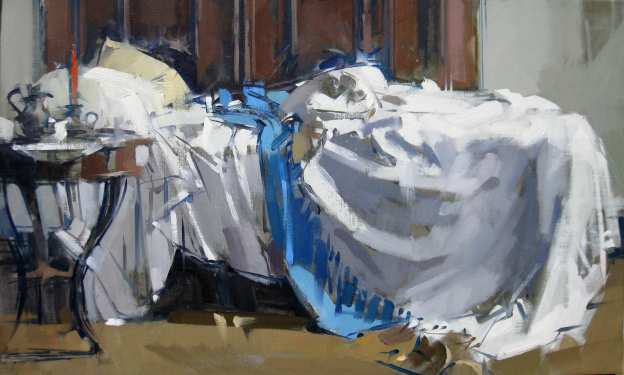 Maggie Siner Single Unmade Bed 2011