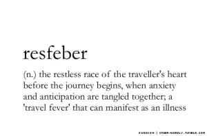 travel anticipation