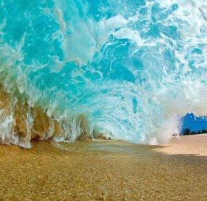 Clark Little The Inside of a Breaking Wave