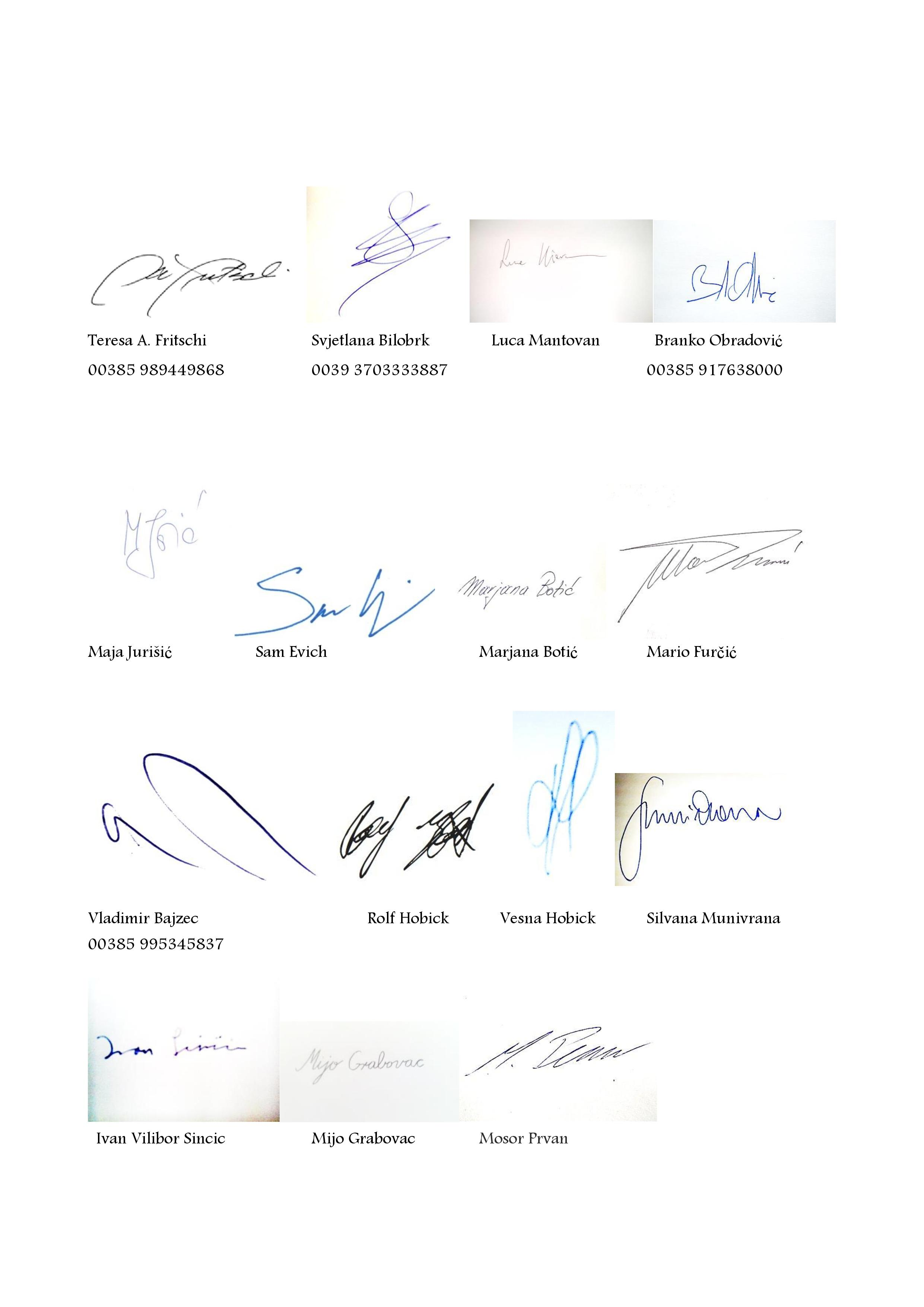 Signatures page 001